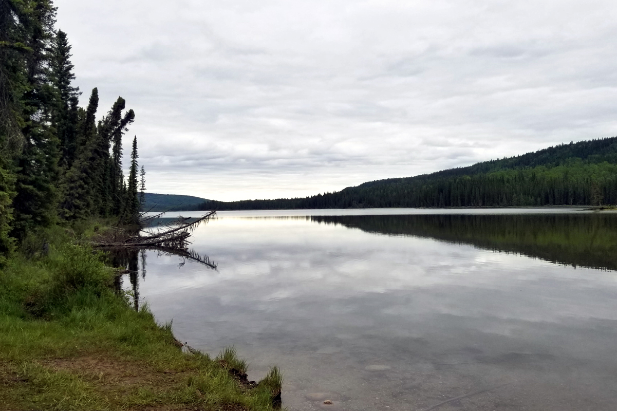 Procházka k jezeru