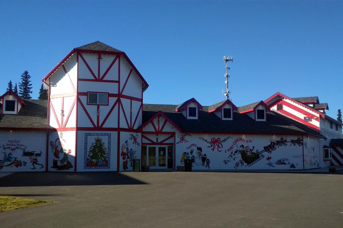 Dům Santy Clause na Severním Pólu