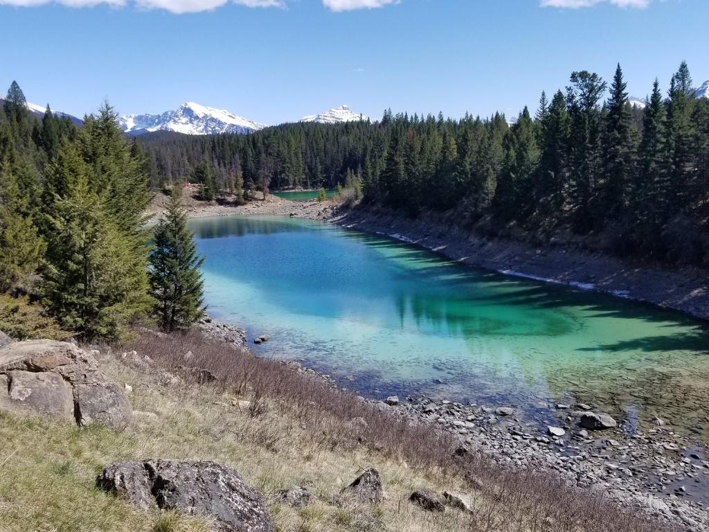 Jasper - Údolí pěti jezer